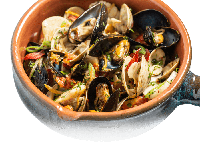 Clams, Mussels, & Scallops